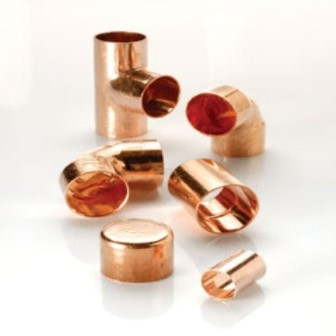 End Feed Copper Fittings