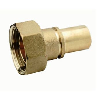 Gas Meter Union 22mm grooved